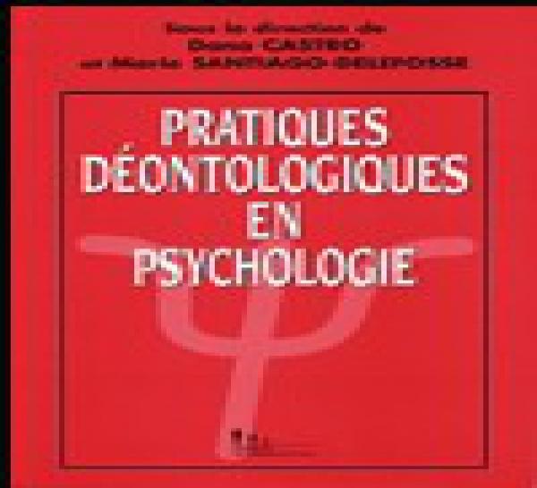 FRANCE : Pratiques déontologiques, livre