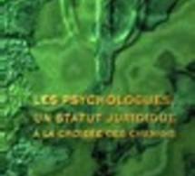 FRANCE : Les psychologues, un statut juridique à la croisée des chemins, DURMARQUE Yann, 2001