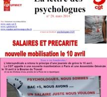 10/04/2014 Grève nationale et manifestation des psychologues