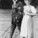 Anna Freud et son père 1913