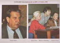 Congrès International de la SIPE, Paris, 1991.